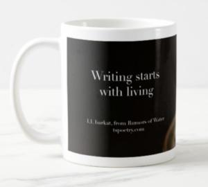 Writing Starts With Living Mug