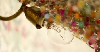 Cento Poems Lightbulb on Mosaic