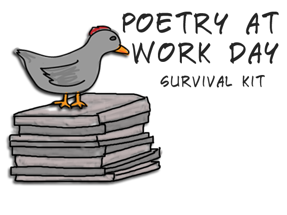 poetry at work day survival kit