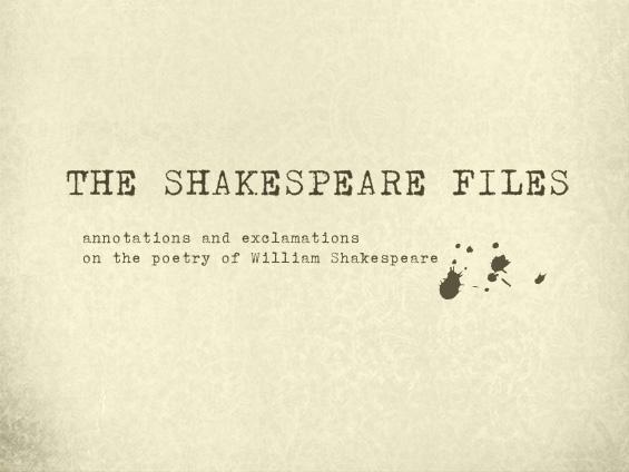 shakespeare files