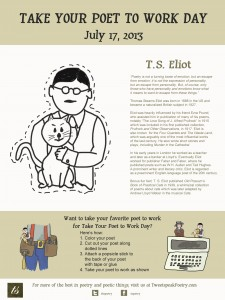 Take Your Poet to Work - T S Eliot