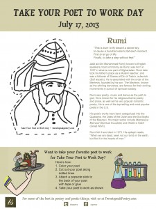 Take Your Poet to Work Day - Rumi