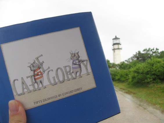Edward Gorey Cats Visit Cape Cod Henry Thoreau Lighthouse
