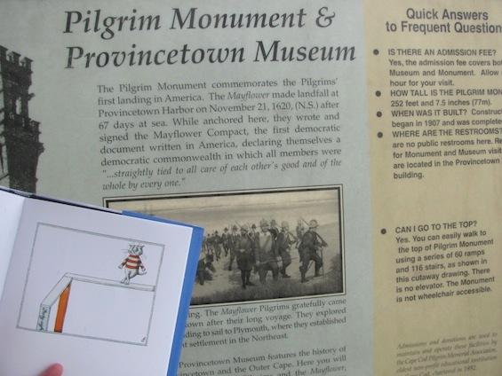 Edward Gorey Cats Visit Cape Cod Provincetown Pilgrim Monument