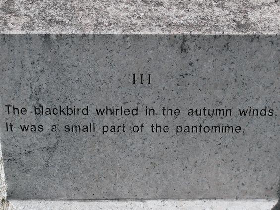 Wallace Stevens Walk Blackbird 3