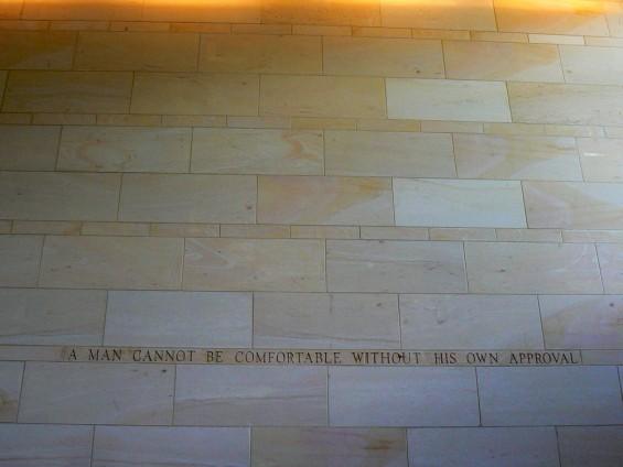 mark twain literary tour wall quote