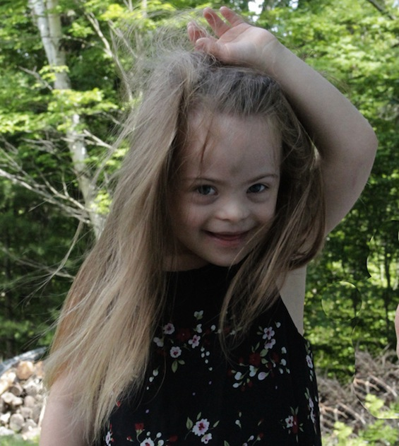 Down Syndrome Awareness Child Model 2