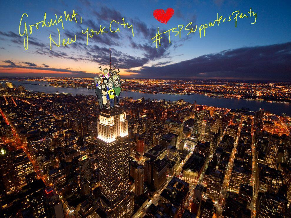 Empire State Building Poetry Tour