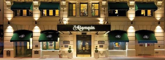 New York City Algonquin Hotel Literary Poetry