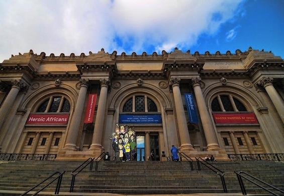 New York City Metropolitan Museum of Art poetry