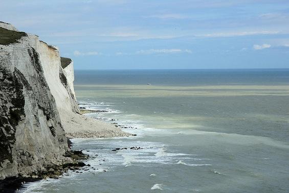 Dover Beach Cliffs tweetspeakpoetry.com