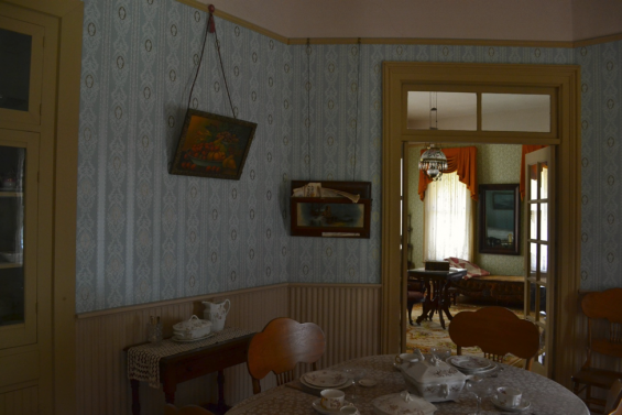 Willa Cather childhood home dining room Tweetspeak Poetry Literary Tour