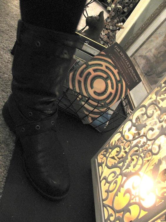 Mischief Cafe Biker Boots