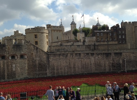 Blood Swept Lands and Seas of Red, Tower of London, September 2014