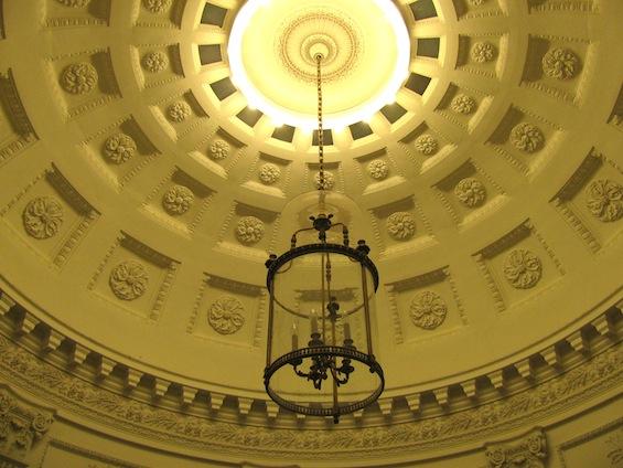 colorado springs school foyer ceiling