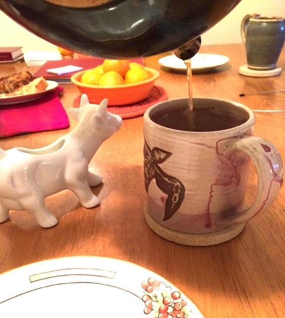 Mischief Cafe Cow Creamer