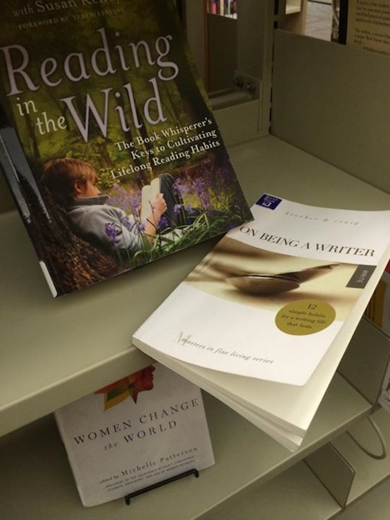 On Being a Writer in the Wild Laura Brown Library 1