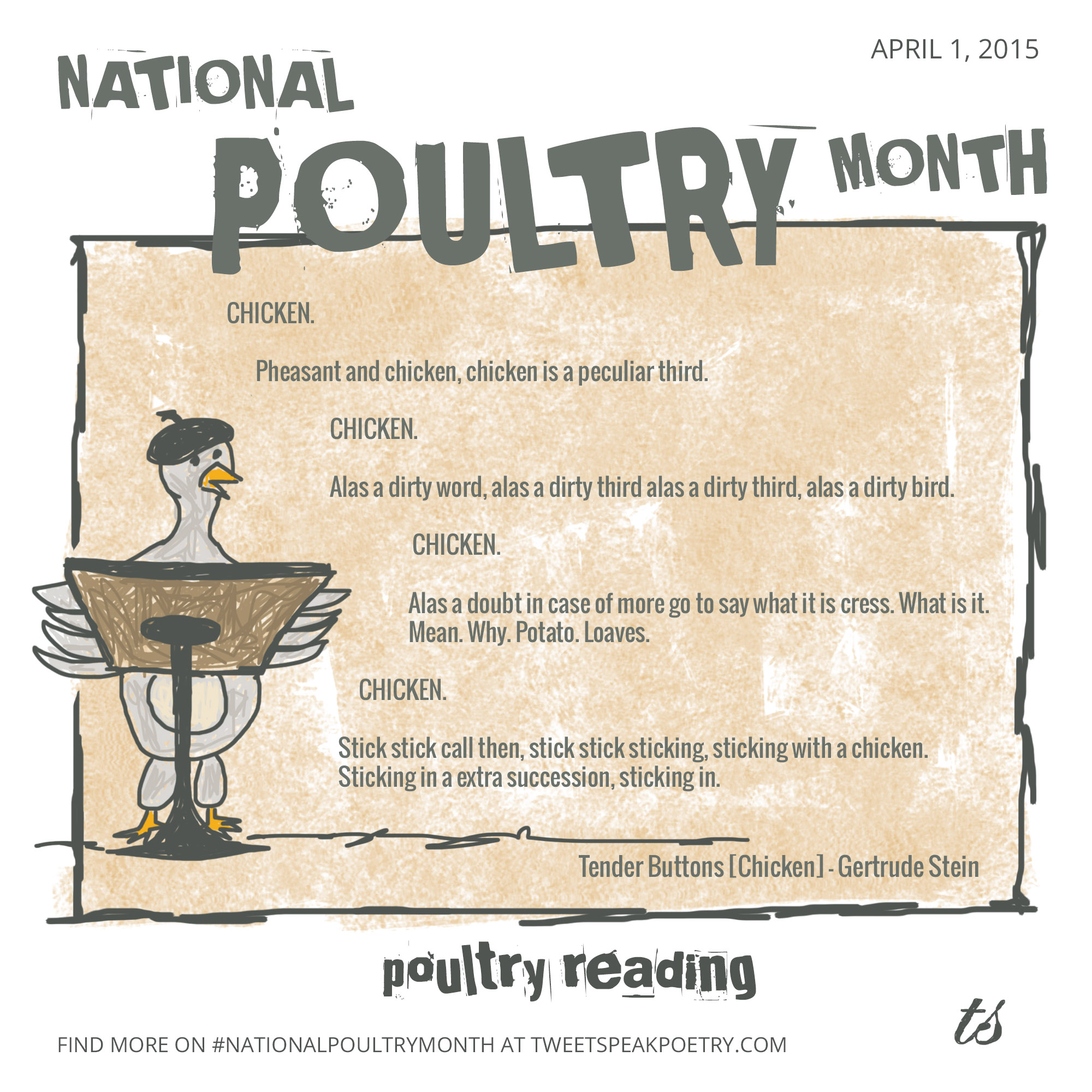 National Poultry Month: Poultry Reading
