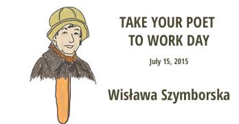 Take Your Poet to Work Day Wisława Szymborska cover