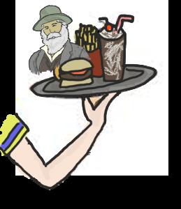 Walt Whitman waitress