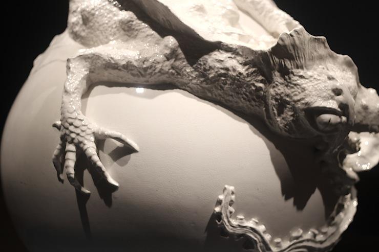 Indianapolis Museum  Dragon Vase