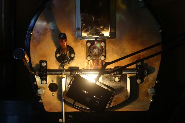 coffee roasting machine again