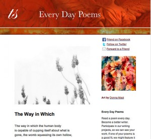 Subscribe to Every Day Poems
