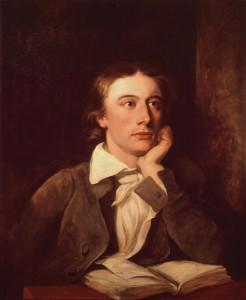 Portrait of Keats by William Hilton, national Portrait Gallery, London