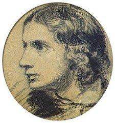 The earliest known portrait of Keats, by Joseph Severn, 1816.