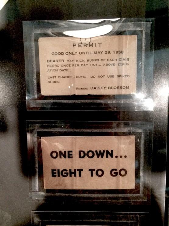 Little Rock Museum Propaganda Cards - Little Rock Central High School National Historic Site