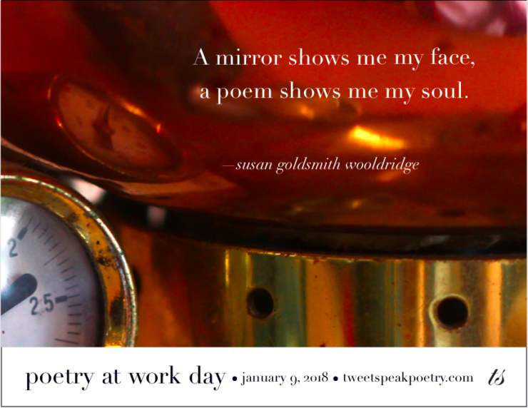 Poetry at Work Day Poster 2018 - Download