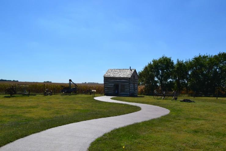 1867 Homesteader cabin