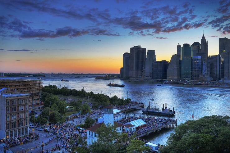 "sunset New York City - Poets and Poems: Danniel Schoonebeek and ""American Barricade"""
