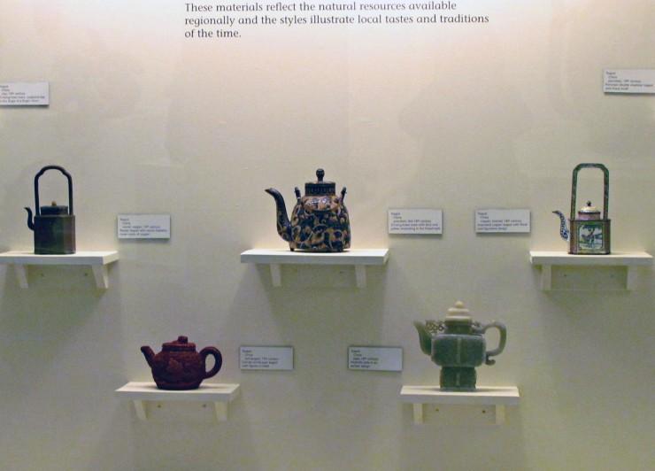 Science & Culture Museum at Michigan State University teapot display