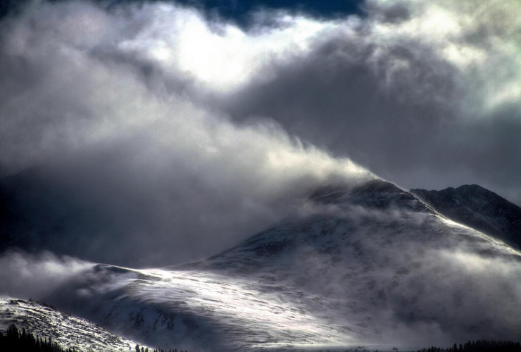 Clouds on Mountain - Understanding the Life and Art of William Blake
