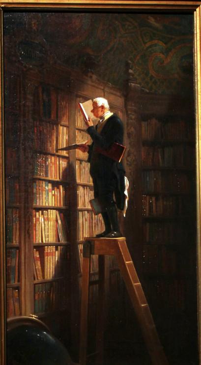 Spitzweg - Bookworm