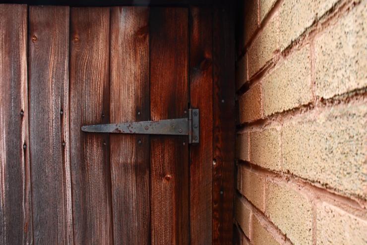 Magicians Elephant book club - old wooden door