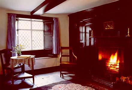 Sitting room at Dove Cottage William Wordsworth