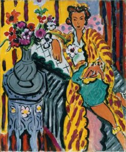 Odalisque avec Anemones by Henri Matisse