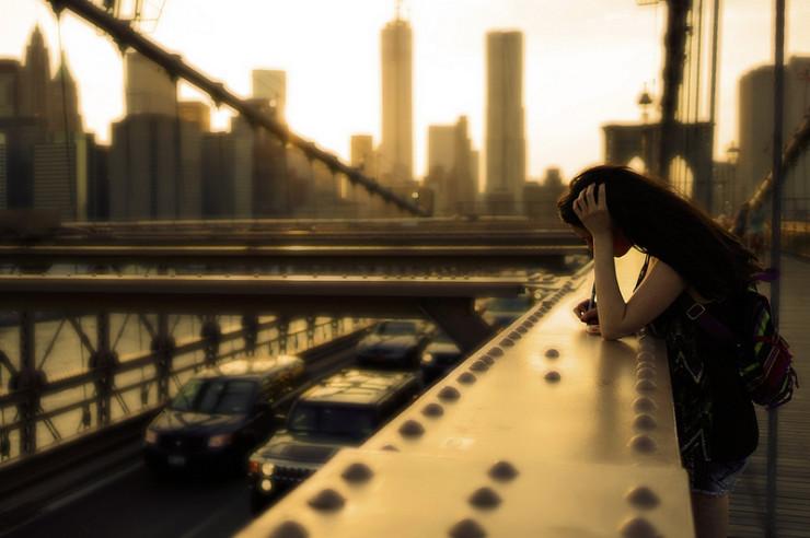 Girl on Bridge Sinead Morrissey