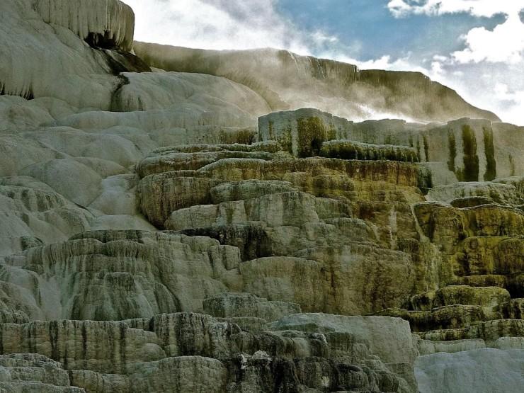 Mammoth Springs at Yellowstone