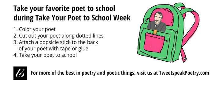 poet in a backpack