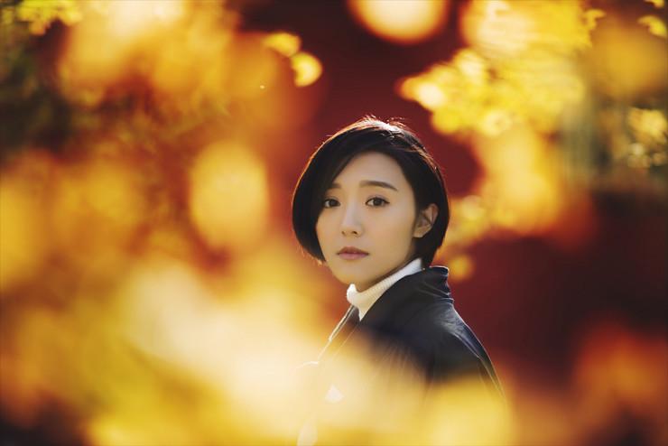 Girl facing camera Jenny Xie