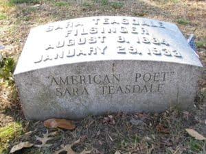 Grave of Sarah Teasdale