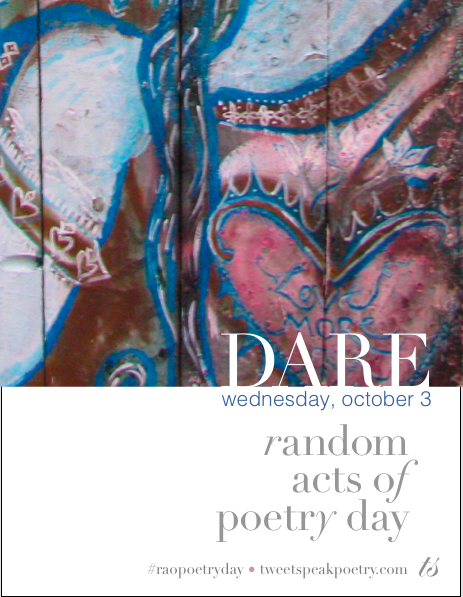 Random Acts of Poetry Day Poster Pic 2018