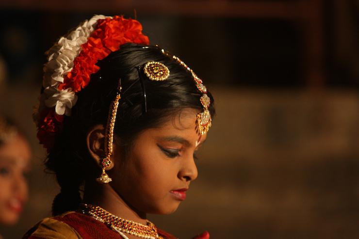 Bharath Natyam Indian Classical dance little girl