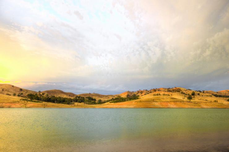 lake landscape Matt Duggan