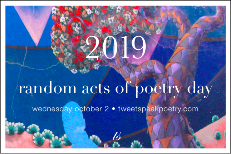2019 Random Acts of Poetry Day
