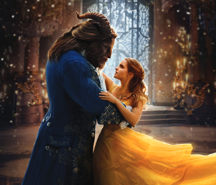 Disney's Beauty and the Beast Dance Scene Movie Review
