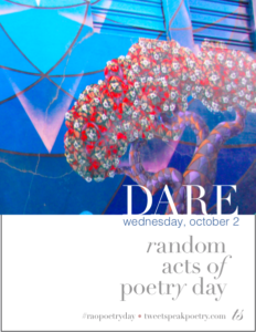 Random Acts of Poetry Day 2019 Poster Icon